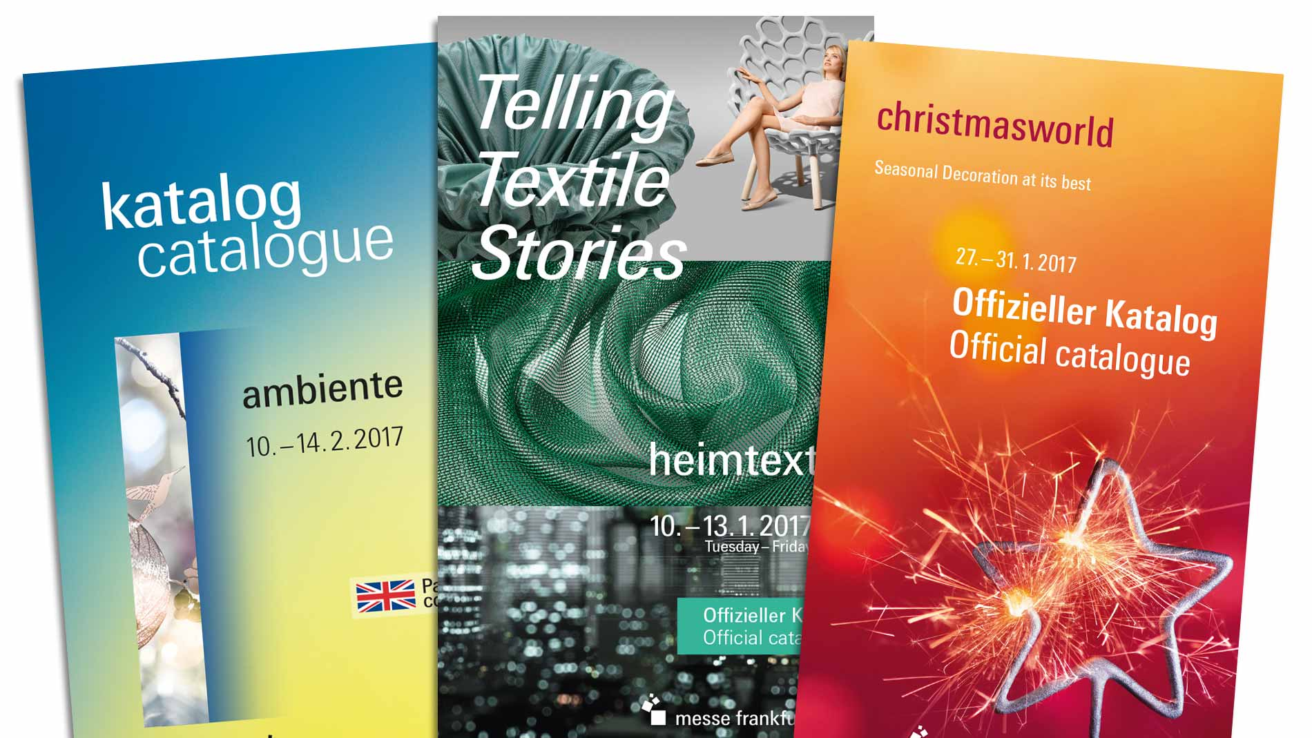 Trade fair catalogues