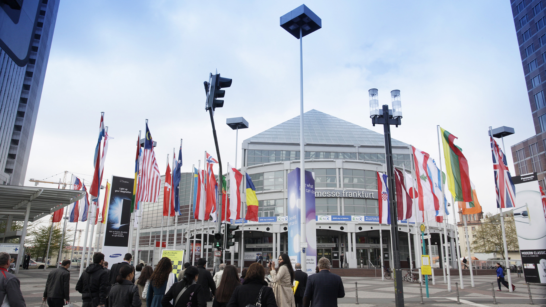 In 2019, France is the Partner Country of ISH – the world's leading trade fair for HVAC + Water – in Frankfurt am Main (Source: Messe Frankfurt Exhibition GmbH)