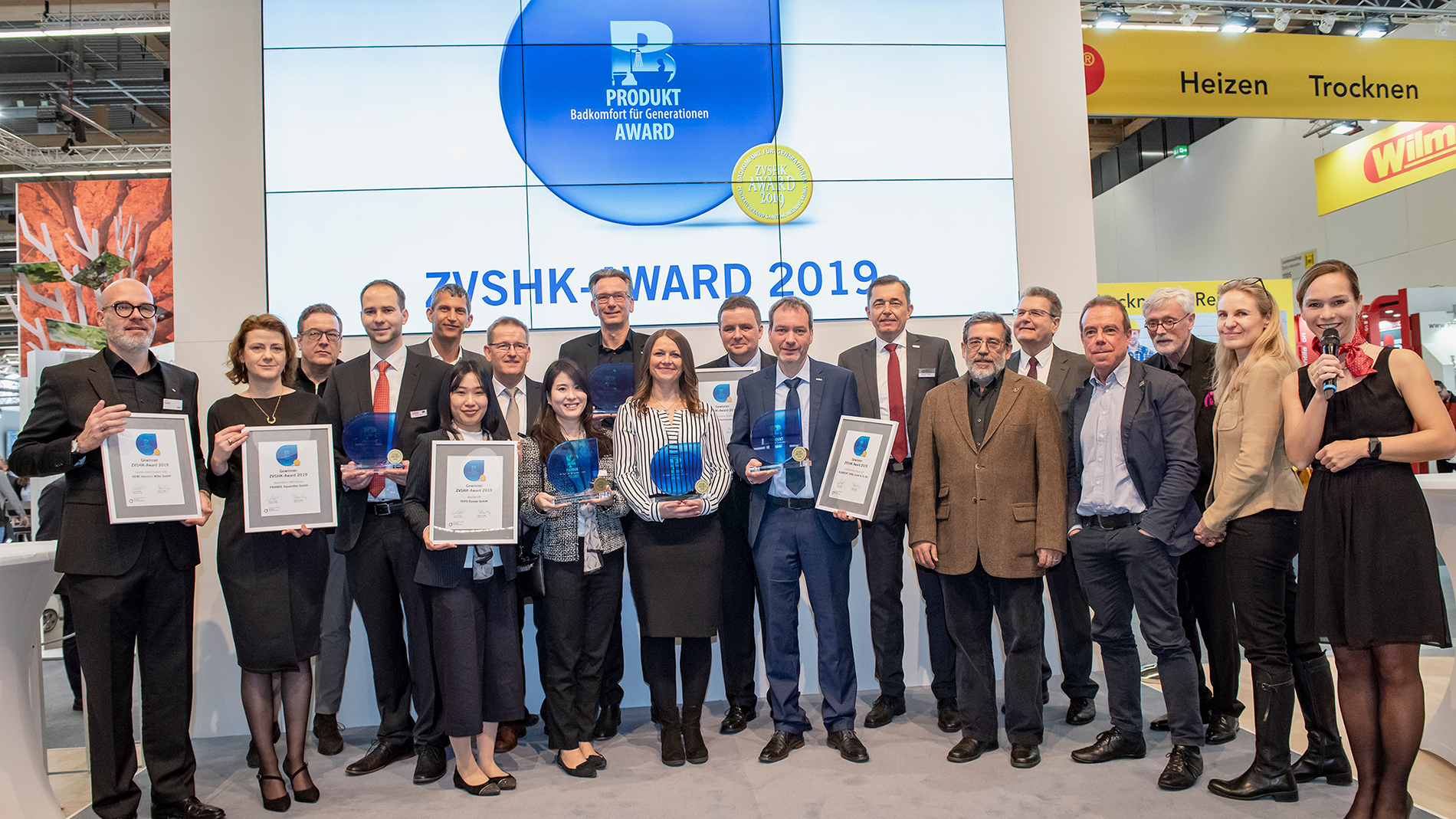 Winners of ZVSHK product award 2019