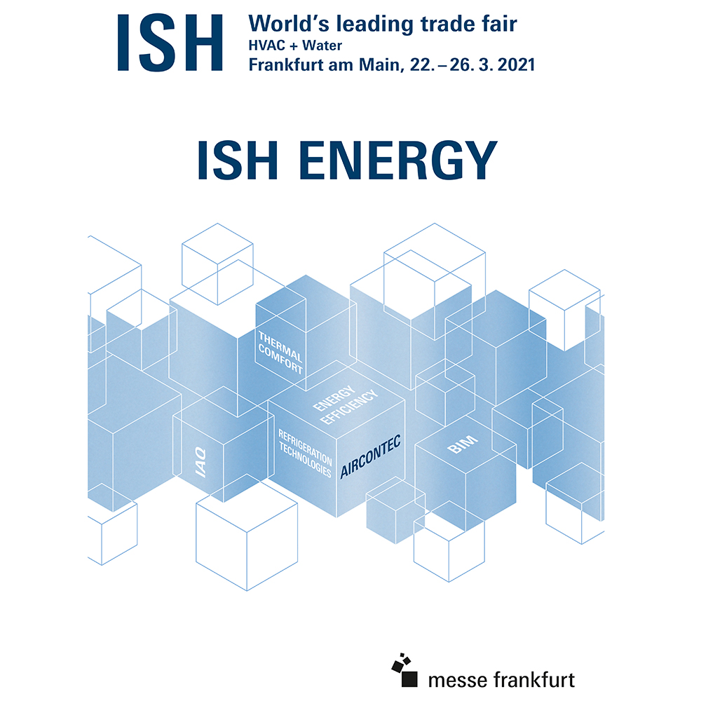 ISH Event motif Refrigeration, air-conditioning and ventilation technology