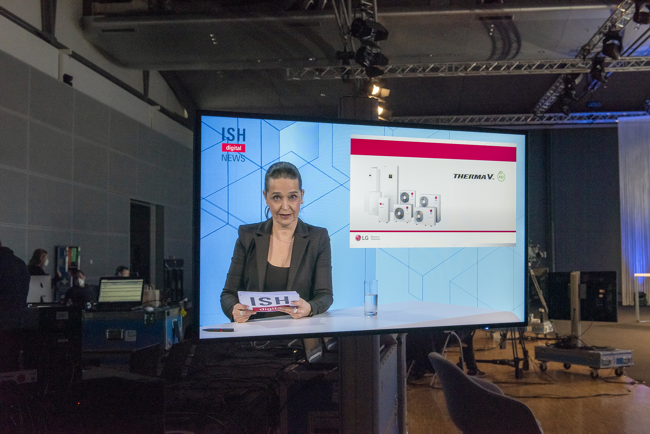 ISH digital 2021 / ISH TV News (Source: Messe Frankfurt Exhibition GmbH / Petra Welzel)