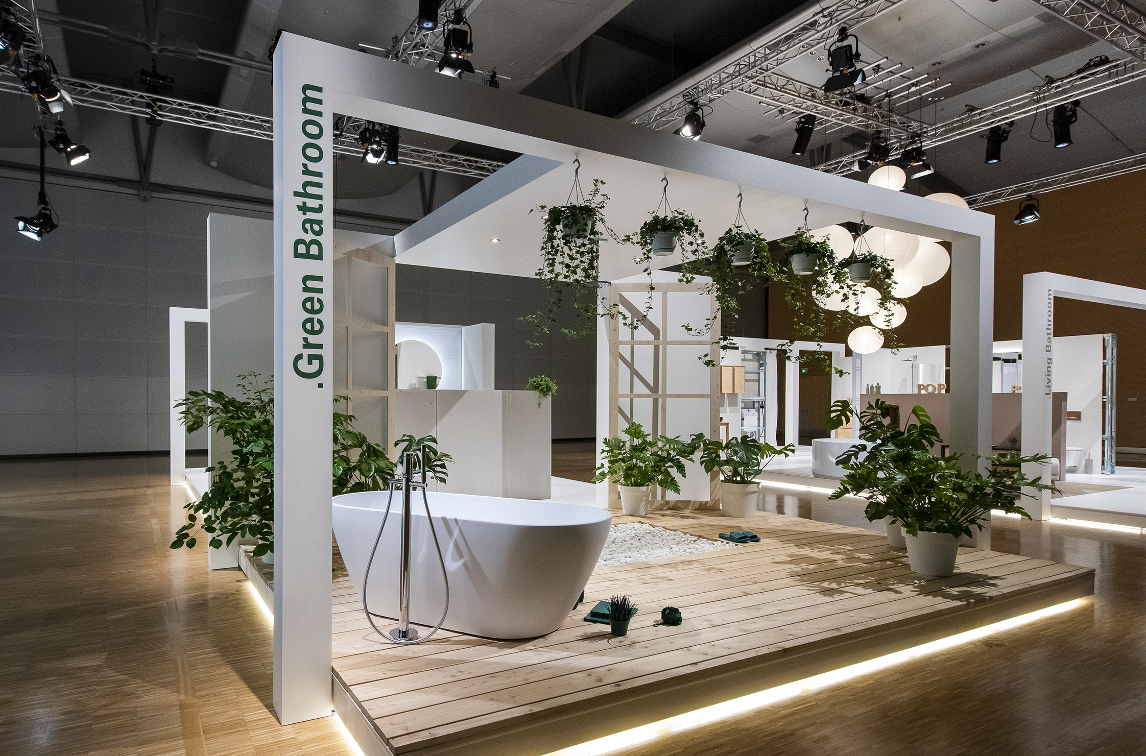 ISH digital 2021 / Pop up my Bathroom (Quelle: Messe Frankfurt Exhibition GmbH / Petra Welzel)
