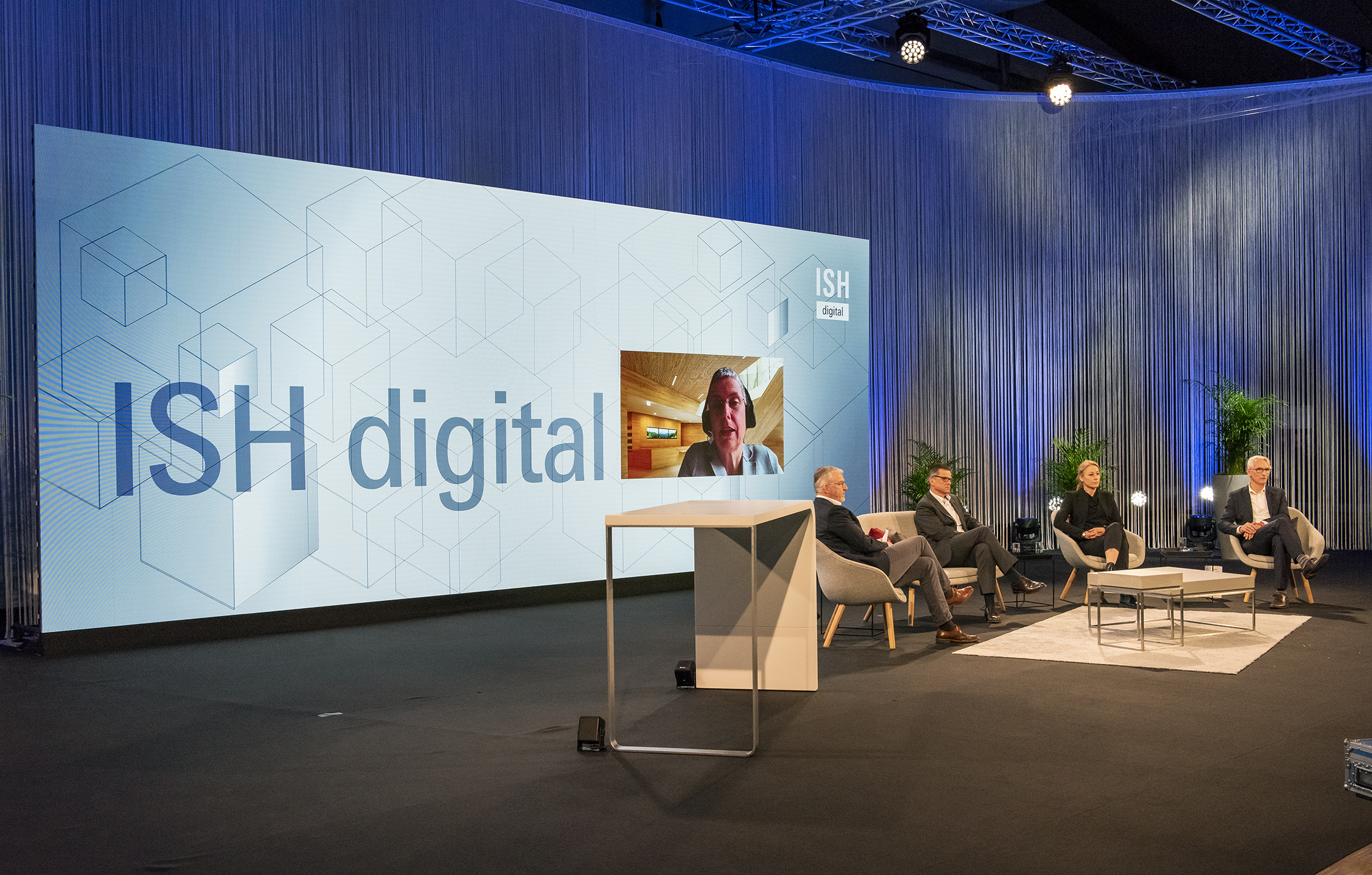 ISH digital 2021 / The House of Earth (Source: Messe Frankfurt Exhibition GmbH / Petra Welzel)